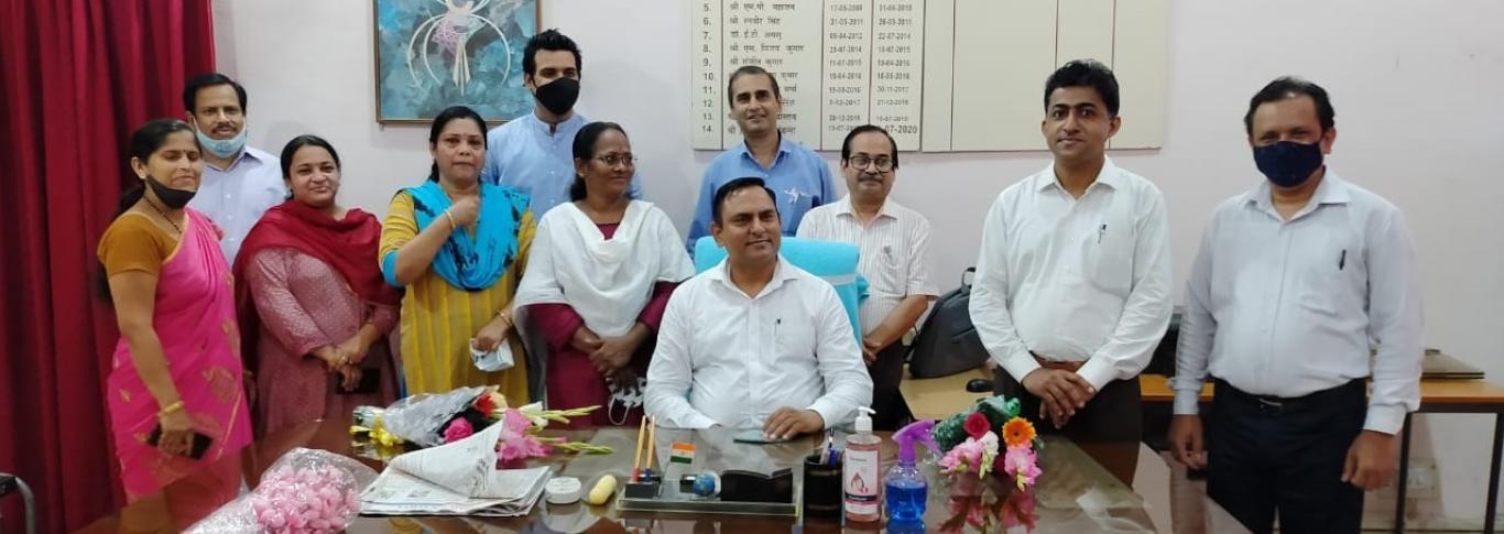 Dr. Anurag Yadav, DC/Director KVS ZIET, Gwalior